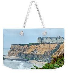 Half Moon Bay Weekender Tote Bag by Betty LaRue