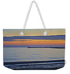 Half Moon Bay Under The Moon At Sunset Weekender Tote Bag