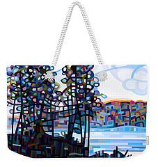 Haliburton Morning Weekender Tote Bag by Mandy Budan