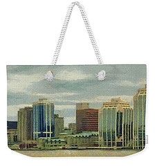Halifax From The Harbour Weekender Tote Bag