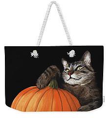 Halloween Cat Weekender Tote Bag