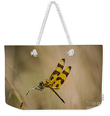 Halloween Pennant Dragonfly Weekender Tote Bag