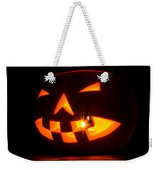 Halloween - Smiling Jack O' Lantern Weekender Tote Bag