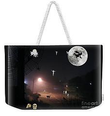 Halloween Spooks Weekender Tote Bag by Leanne Seymour
