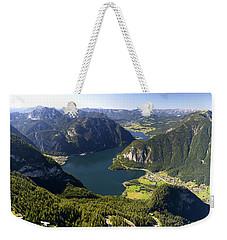 Hallstatt Lake Austria Weekender Tote Bag