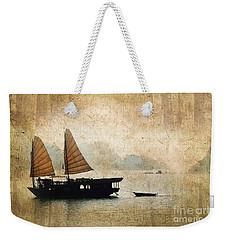 Halong Bay Vintage Weekender Tote Bag