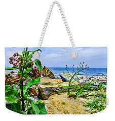 Hamburg Beach On Lake Erie Weekender Tote Bag
