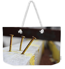 Hammer And Nail Weekender Tote Bag