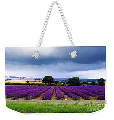 Hampshire Lavender Field Weekender Tote Bag