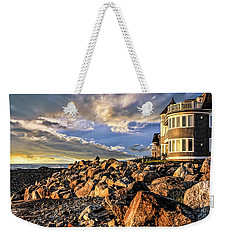 Hampton Beach Sunrise Weekender Tote Bag