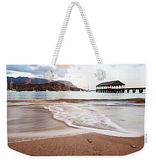 Hanalei Dawn - Kauai, Hawaii Weekender Tote Bag by Melanie Alexandra Price