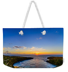 Hanauma Bay Sunrise Weekender Tote Bag