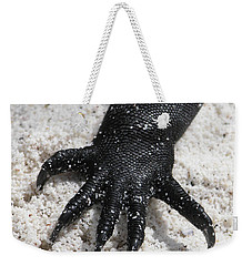Hand Of A Marine Iguana Weekender Tote Bag by Liz Leyden