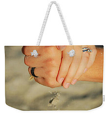 Hands Of Time Weekender Tote Bag by Leticia Latocki