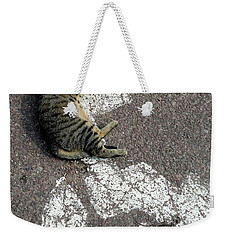 Handicat Parking Weekender Tote Bag