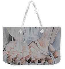 Hands In Water Weekender Tote Bag