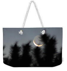 Hand'z And Moon Gotcha Weekender Tote Bag by Angela J Wright