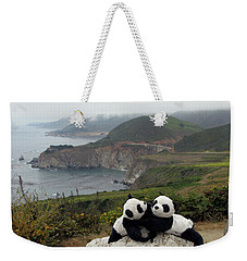 Weekender Tote Bag featuring the photograph Hang On- You Got A Friend by Ausra Huntington nee Paulauskaite