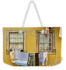 Hanging Clothes Of Old Europe II Weekender Tote Bag