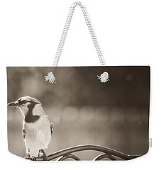 Hanging Out In The Garden Weekender Tote Bag by Kim Henderson