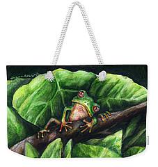 Hanging Out Weekender Tote Bag by Shana Rowe Jackson