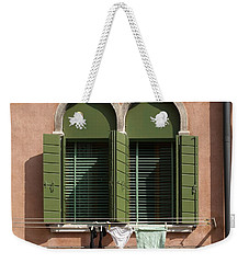 Hanging Out To Dry Weekender Tote Bag by Ron Harpham