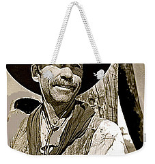 Hank Worden Publicity Photo Red River 1948-2013 Weekender Tote Bag by David Lee Guss