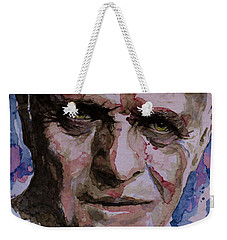 Weekender Tote Bag featuring the painting Hannibal by Laur Iduc