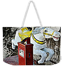 Hannibal Mechanical Riding Horse Weekender Tote Bag