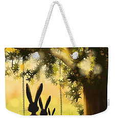 Happily Together Weekender Tote Bag by Veronica Minozzi