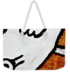 Weekender Tote Bag featuring the painting Happiness 12-010 by Mario Perron