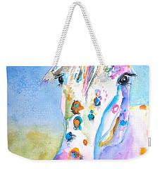Happy Appy Weekender Tote Bag by Carlin Blahnik