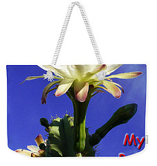 Weekender Tote Bag featuring the photograph Happy Birthday Card And Print 15 by Mariusz Kula
