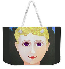 Happy Boy Weekender Tote Bag