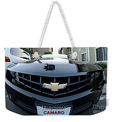 Weekender Tote Bag featuring the photograph Happy Camero by Clayton Bruster