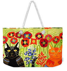 Happy Cats Weekender Tote Bag
