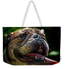 Happy Dog Weekender Tote Bag by Bob Orsillo