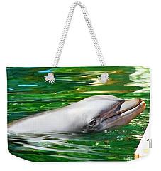 Happy Dolphin Weekender Tote Bag