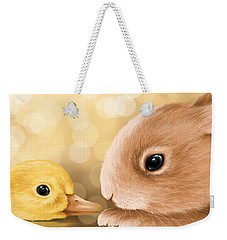 Happy Easter 2014 Weekender Tote Bag