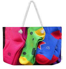 Wear Loud Socks Weekender Tote Bag