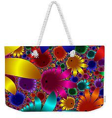 Happy Flowers Weekender Tote Bag