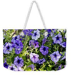 Happy Flowers Weekender Tote Bag by Wilma  Birdwell