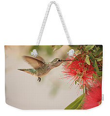 Happy Humming Weekender Tote Bag