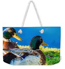 Happy Little Ducks  Weekender Tote Bag