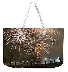 Happy New Year 2014 A Weekender Tote Bag