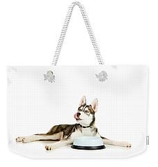 Happy Puppy Weekender Tote Bag