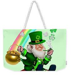 Happy St. Patrick's Day Weekender Tote Bag
