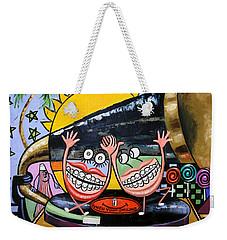 Happy Teeth When Your Smiling Weekender Tote Bag