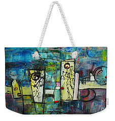 Happy Time Weekender Tote Bag