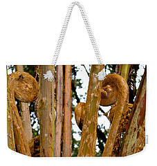 Hapu'u Fern Fronds Weekender Tote Bag